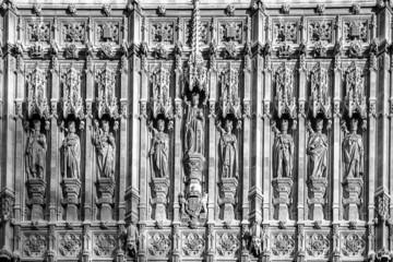 Church's wall in London