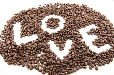 love Coffee beans