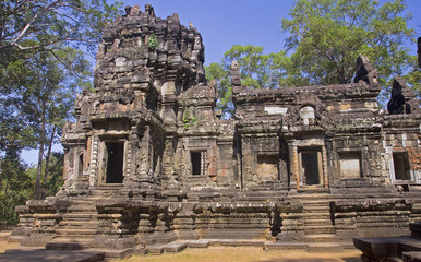 One of the temples in the area of Angkor Wat