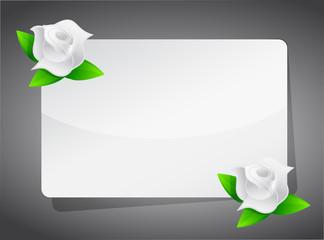 roses sign illustration design