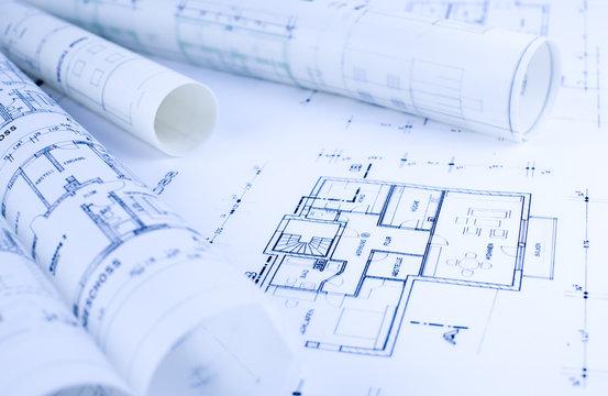 Architektur, Skizzen, Rollen