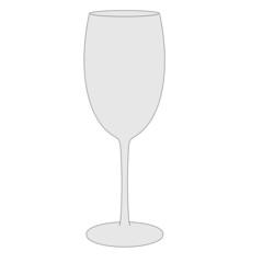cartoon image of drink glass