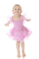 Bowing Preschool Dancer