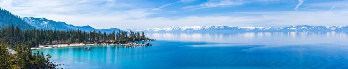 Lake Tahoe panorama Wall mural