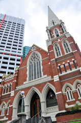 Albert Street Uniting Church in Brisbane, Australia.