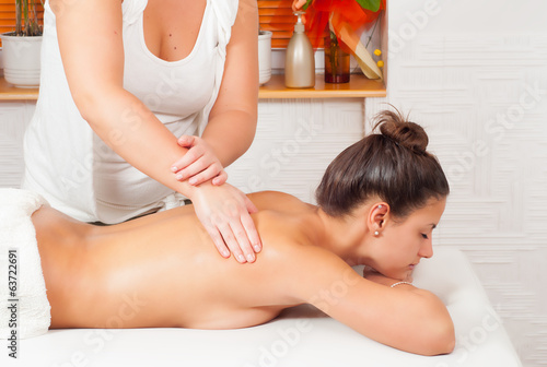 массаж девушке фото онлайн