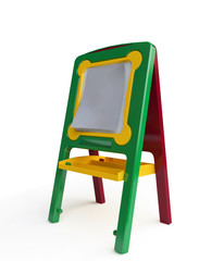 Colorful Toy Easel in 3D