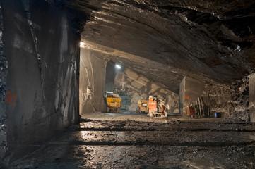 a mine of slate near Genoa, Fontanabuona Valley