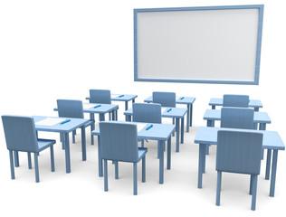 Prüfungsraum Schule