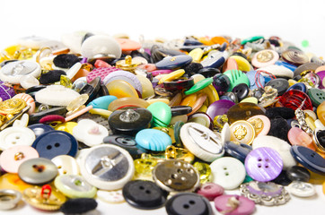 Sewing buttons