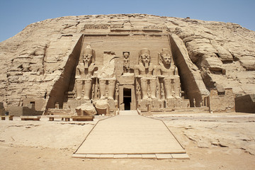 Wall Murals Egypt The Great Temple, Abu Simbel , Egypt