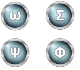 buttons and symbols