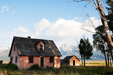 Grand Tetons and House