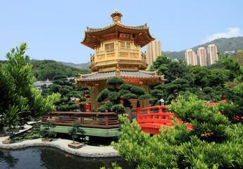 golden temple in Hong Kong