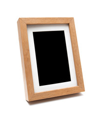 Wooden photo frame(clipping path)