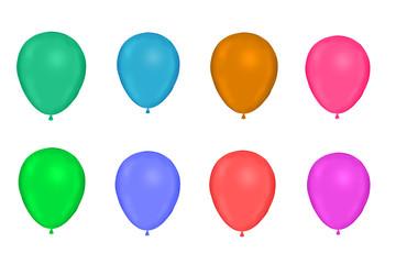 light Color ballons