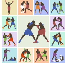25 color images boxers