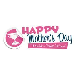 Happy Mothers Day Emblem