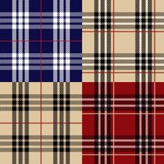 Seamless set fabric pattern