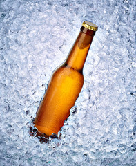 cold beer alcohol drink ice