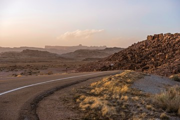 Wall Mural - Utah Desert Road