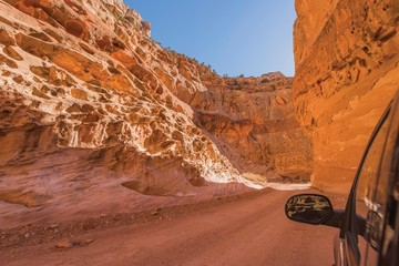 Wall Mural - Dirty Canyon Road in Utah