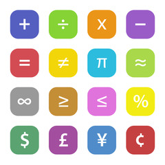 Math Financial Symbols