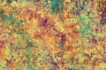 Colorful cotton batik