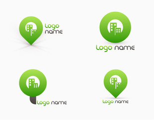 tree Eco Business icon template