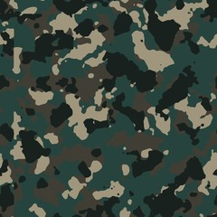 Dark forest seamless camo
