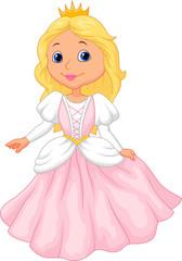Cute princess cartoon