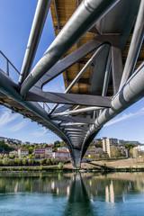 La passerelle de la paix à Lyon