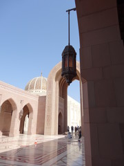 Sultan Qaboos Qabus Grand Mosque Mosquée Muscat Mascate Oman