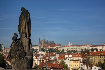 Ponte Carlo - Statue - Praga