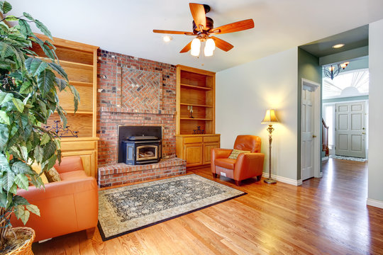 Cozy living room interior