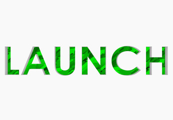 Launch 3D Word Arrows Up Successful New Business Start