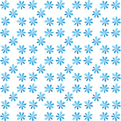 seamless blue flower for gift box christmas pattern texture back