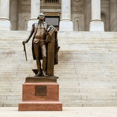 Statue of Georgia Washington at South Carolina Statehouse