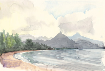 Drawing Lake