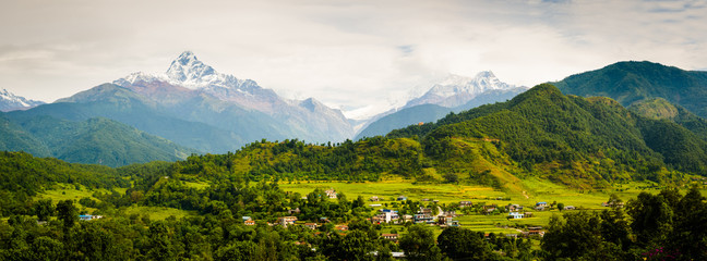 Annapura Panorama, from near Pokhara