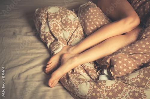 девушки ночью в постели фото домашние
