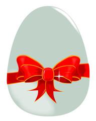 Egg and Ribbon