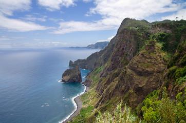 Santana coastline, Madeira