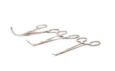 Surgical Operating tool isolated