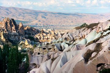 Cappadocia  volcanic landscape