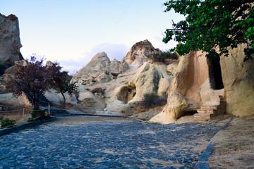 Churches in rocks of Cappadocia