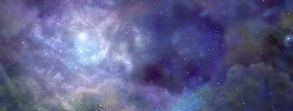 Deep Space website banner