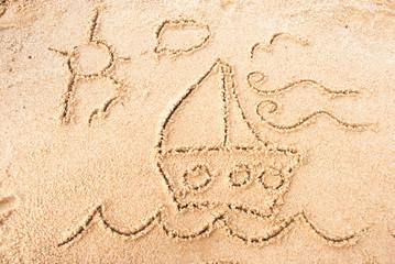 Barco de arena