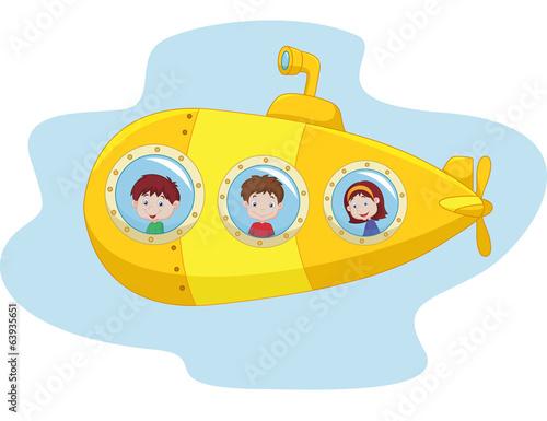 мультяшные картинки подводных лодок