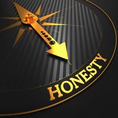 Honesty Concept on Golden Compass.